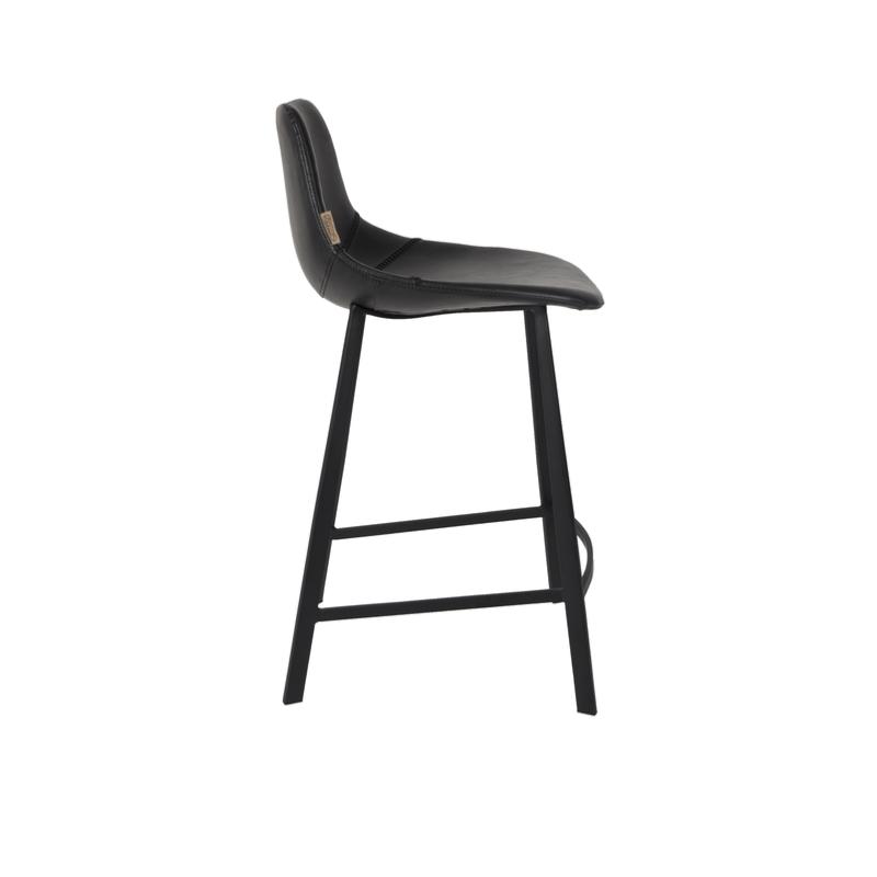 chaise haute franky h65cm black dutchbone. Black Bedroom Furniture Sets. Home Design Ideas