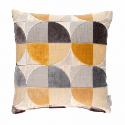 Coussin CLUB Ochre - 45 x 45 cm - ZUIVER