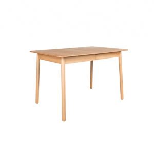 Table à manger GLIMPS - extensible 120-162x80cm en bois - Zuiver