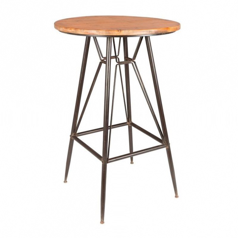 Table de bar ronde ø65cm Whiskey