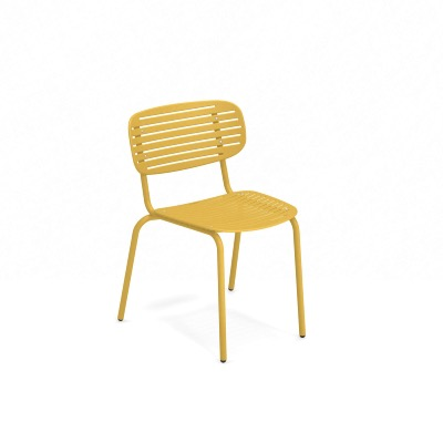 Chaise empilable MOM - Jaune curry - EMU