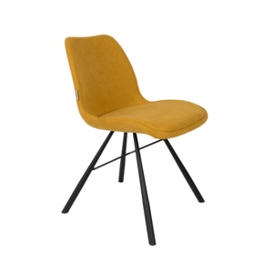 CHAISE BRENT MUSTARD - ZUIVER