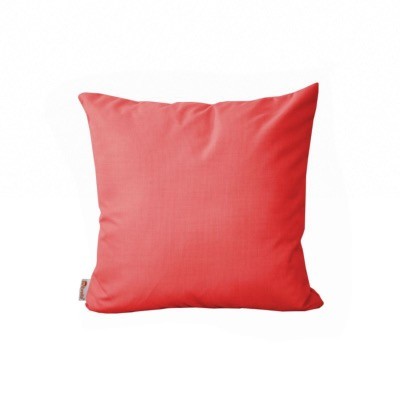 COUSSIN DECOR 45X45, toile sunbrella 210 gr, garniture ouate waterpass coloris flame 107