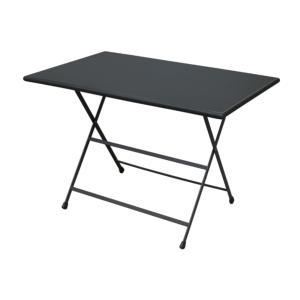 TABLE ARC EN CIEL 110X70 COLORIS FER ANCIEN emu