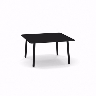 Table basse Darwin - noir - 70 x 70 cm - EMU