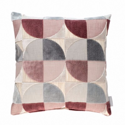 Coussin CLUB Rose - 45 x 45 cm - ZUIVER
