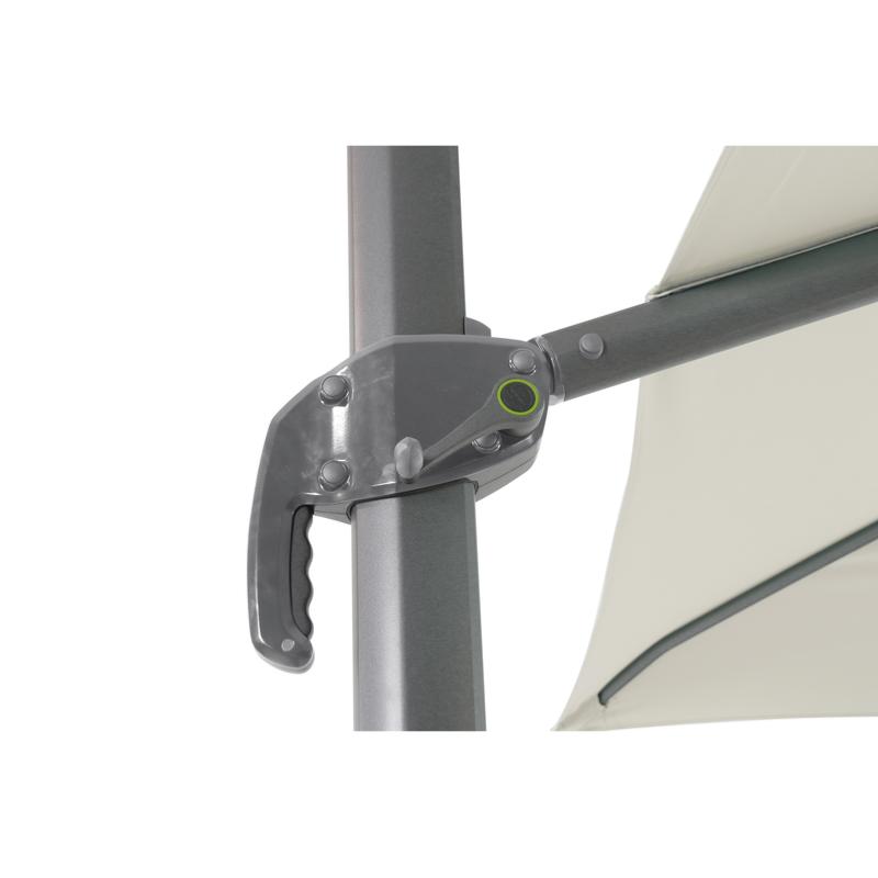 parasol deporte alizeo 3x3 coloris naturel. Black Bedroom Furniture Sets. Home Design Ideas