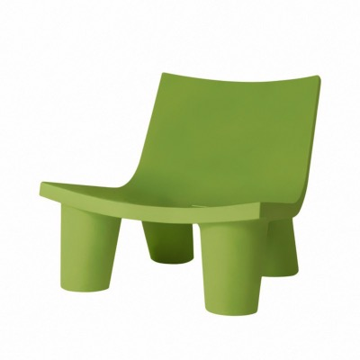 Chaise Lounge LOW LITA coloris Vert - SLIDE