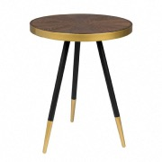 Table d'appoint Denise - Ø44 x H45 cm