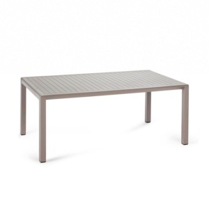 Table basse ARIA 100 x 60 x 40cm coloris tortora - NARDI
