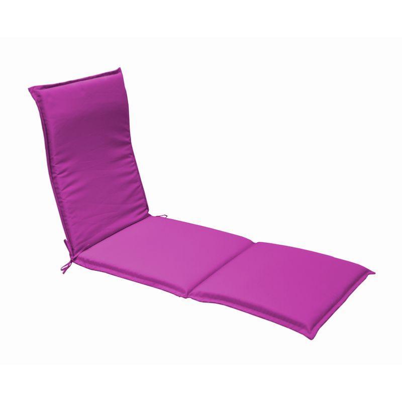 coussin garden pour bain de soleil framboise. Black Bedroom Furniture Sets. Home Design Ideas