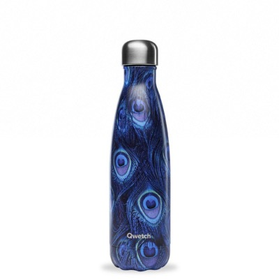 Bouteille isotherme collection PAON coloris bleu, 500ml