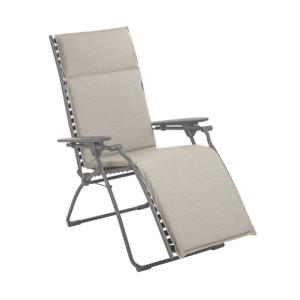 Fauteuil Relax Evolution Hedona Latte multi-positions - LAFUMA