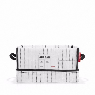Panier Urban Box New York - 19 l - Noir et blanc - Reisenthel