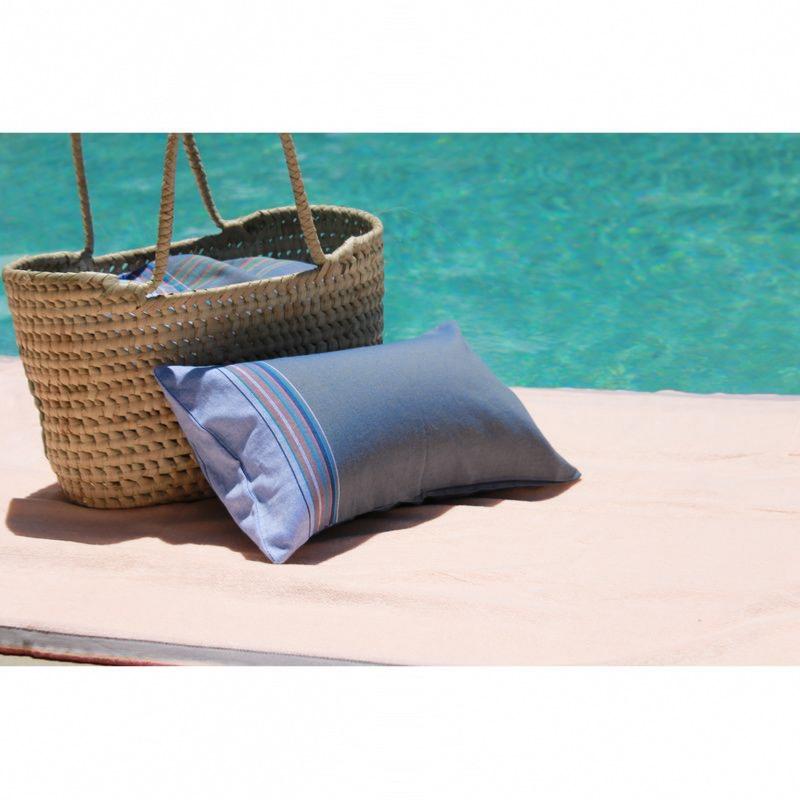 coussin de bain plage coloris cuba libre. Black Bedroom Furniture Sets. Home Design Ideas