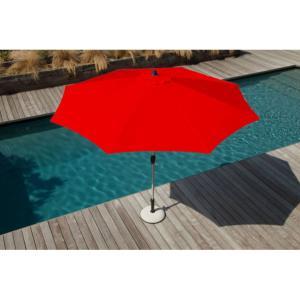 Parasols mat central mobilier de jardin design - Toile de parasol 8 baleines ...