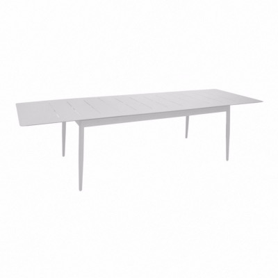 Table Dublin 180/240 cm Blanc - Océo