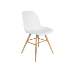 Chaise ALBERT KUIP coloris white - ZUIVER