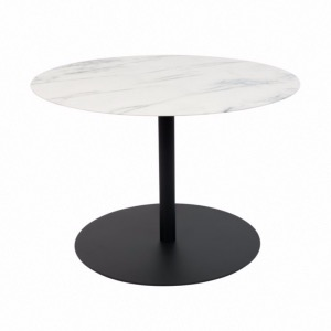 Ronde Marbre Zuiver Table Basse Snow UzMVpSq