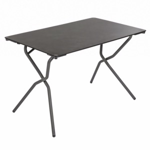 TABLE RECTANGLE Anytime HPL Volcanic - 68 x 110 cm - LAFUMA