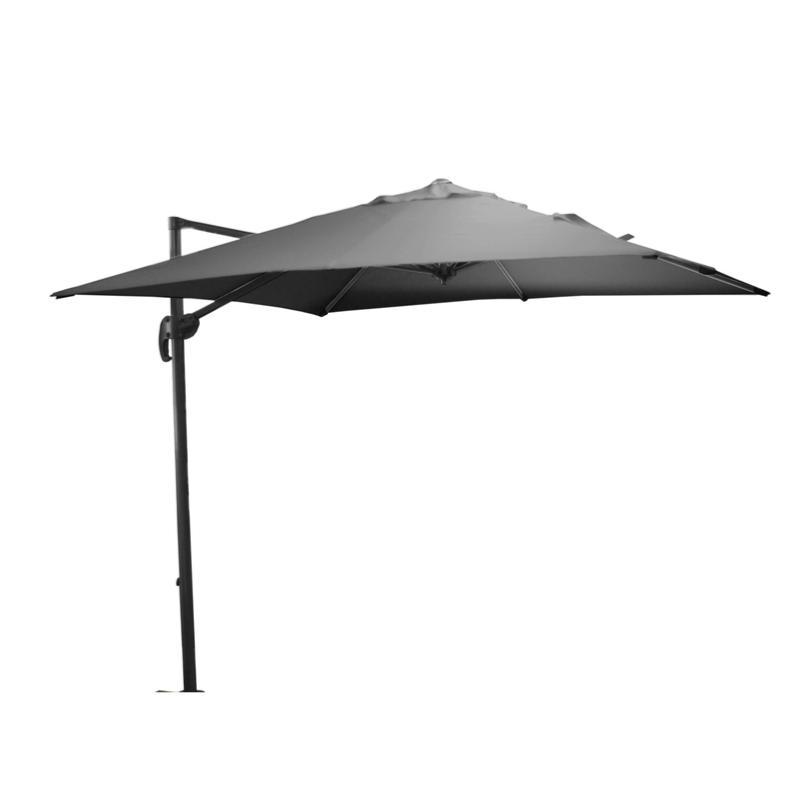 parasol roma 250x250 grey gris. Black Bedroom Furniture Sets. Home Design Ideas