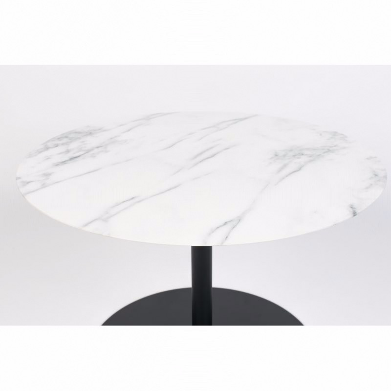 Table Basse Snow Marbre Ronde - Zuiver