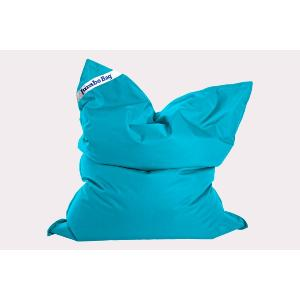 COUSSIN JUMBO BAG ORGINAL BLEU PETROLE