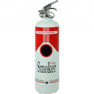 Cendrier design Smoker red - FIRE DESIGN