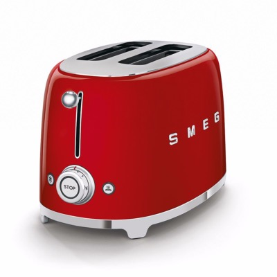 Toaster 2 tranches années 50 - rouge - SMEG