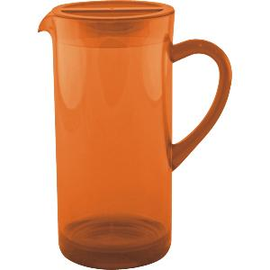 CARAFE BEC VERSEUR ORANGE TRANSPARENT