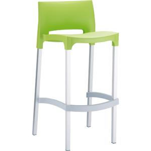 TABOURET BAR GIO VERT ANIS EMPILABLE