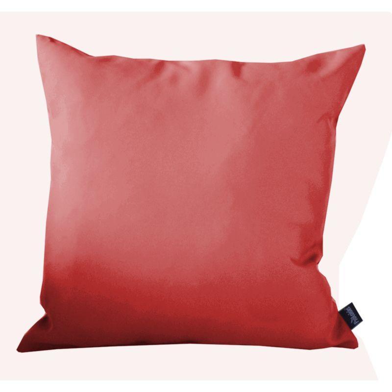 COUSSIN DECOR ROUGE, en tissu polyester 180 gr, traité déperlant ...