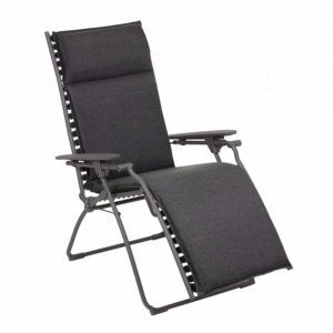 Fauteuil Relax Evolution Hedona Onyx multi-positions - LAFUMA