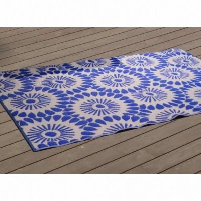 Tapis Exterieur 240x150cm Coloris Bleu Proloisirs
