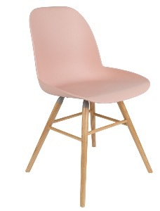 Chaise ALBERT KUIP coloris old pink - ZUIVER