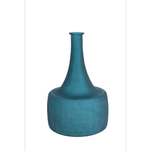 Vase FIELD FLOWER en verre coloris bleue ZUIVER