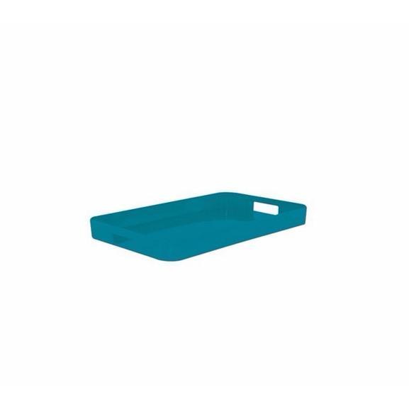 plateau gallery en melamine turquoise. Black Bedroom Furniture Sets. Home Design Ideas