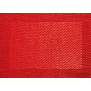 SET DE TABLE ROUGE