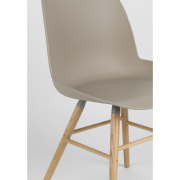 Chaise ALBERT KUIP coloris taupe - ZUIVER