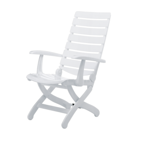 FAUTEUIL TIFFANY MULTI-POSITIONS BLANC KETTLER