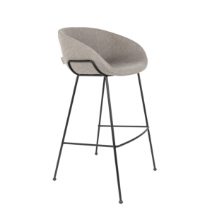 Tabouret de bar FESTON fab grey - 76 cm - ZUIVER