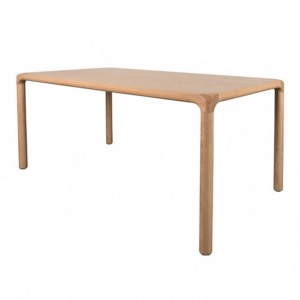 TABLE STORM 220X90 cm EN PLATEAU MDF COLORIS NATUREL ZUIVER
