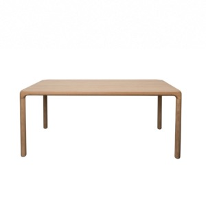 TABLE STORM 180X90 cm EN PLATEAU MDF COLORIS NATUREL ZUIVER