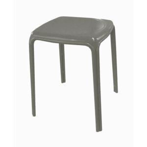 TABOURET AZURO TAUPE  PROLOISIRS EMPILABLE