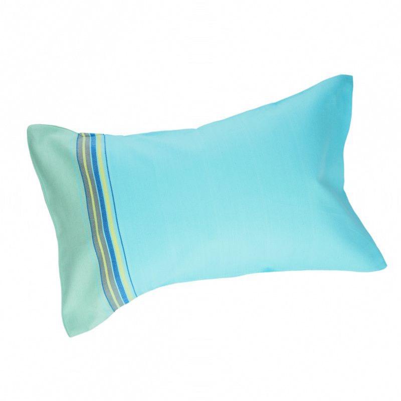 coussin de bain plage coloris blue lagoon. Black Bedroom Furniture Sets. Home Design Ideas