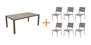 Ensembles tables + chaises