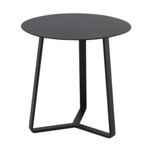 TABLE BASSE APOLLO Ø60 COLORIS NOIR