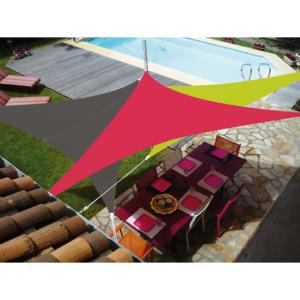 VOILE EASYSAIL TRIANGLE 3X3 FRAMBOISE